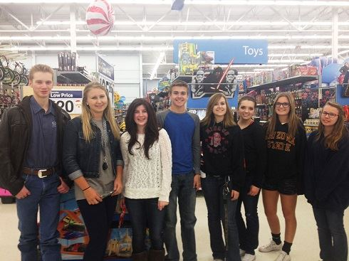 Pay it Forward Event at Walmart