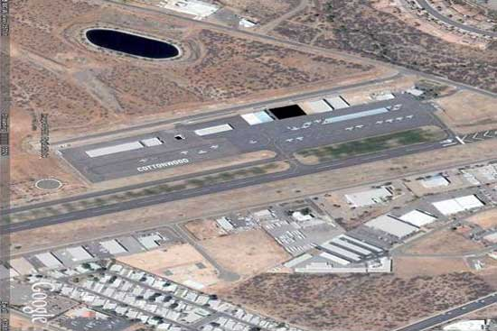 Airport From The Sky