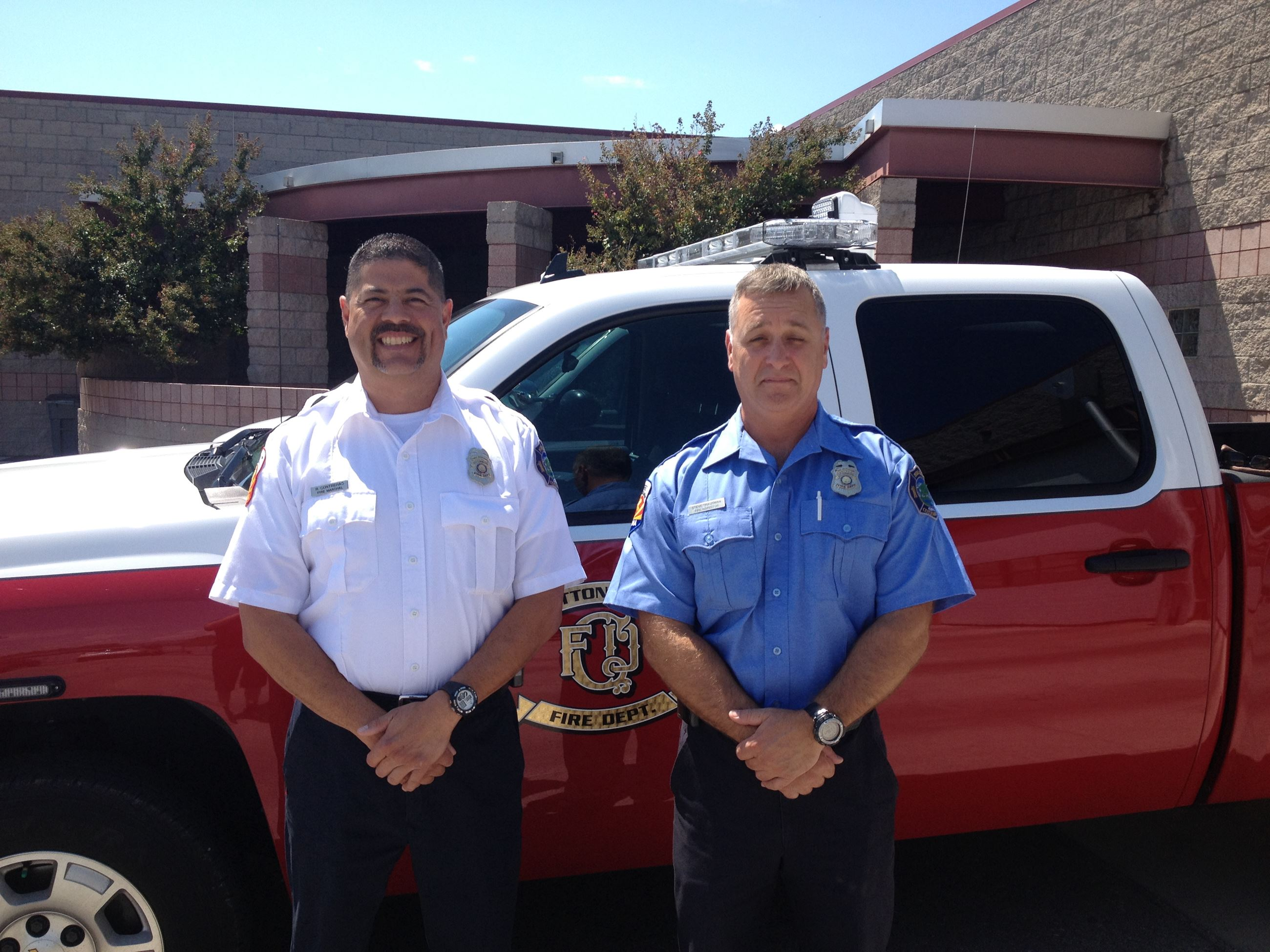 Fire Department Prevention Division Staff Members