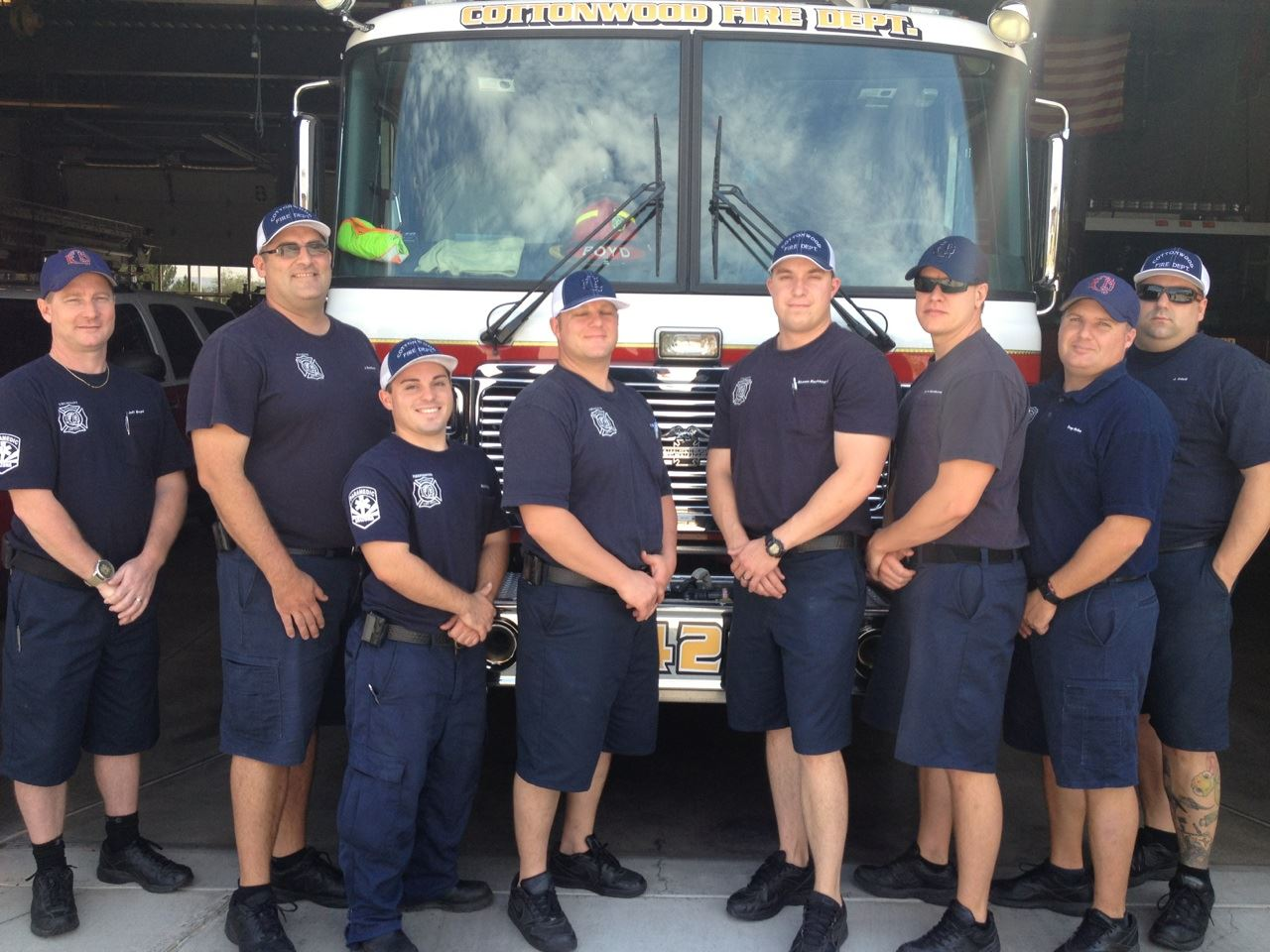 The Staff of the Fire Department A Shift